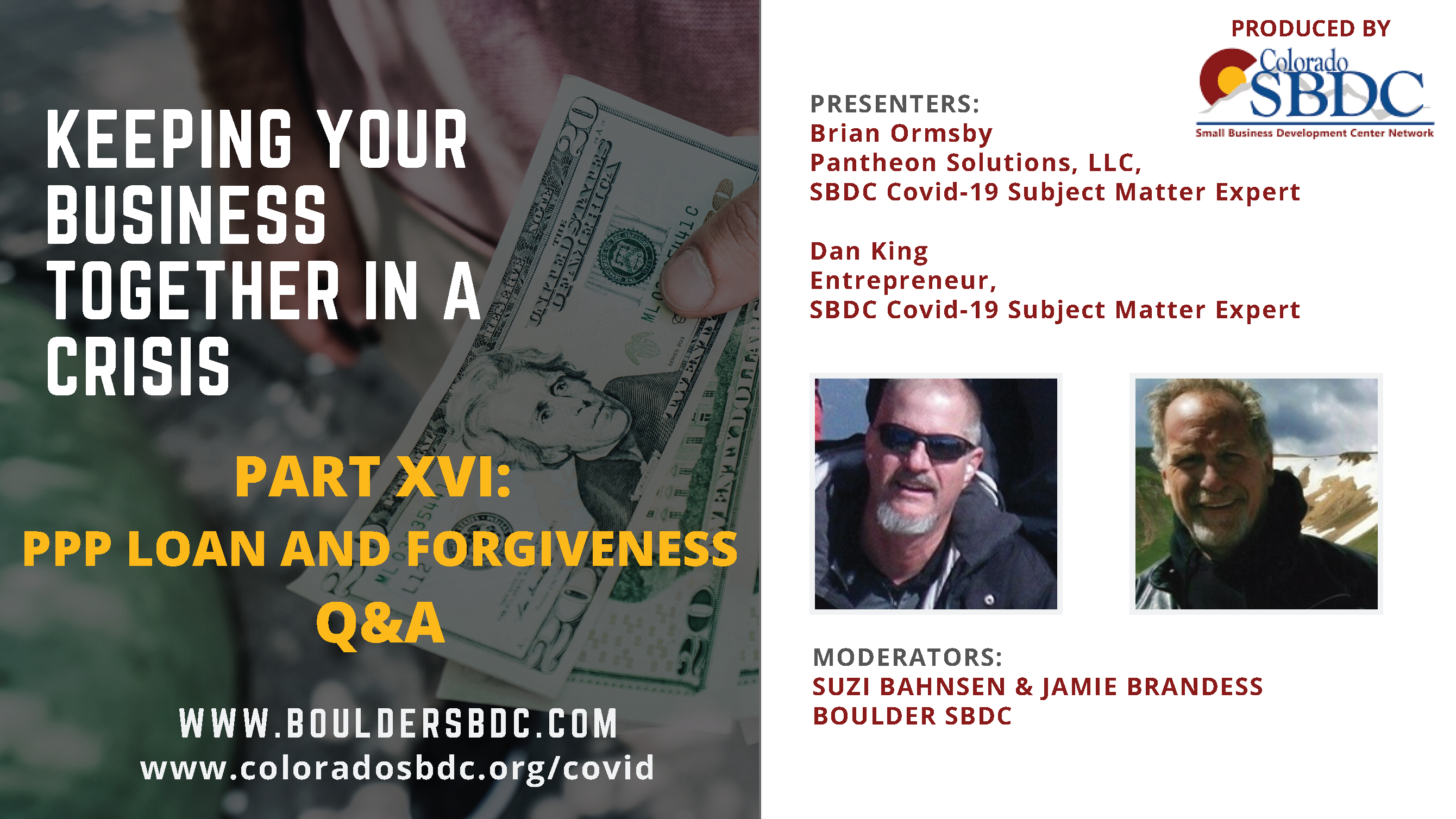 PPP LOAN AND FORGIVENESS Q&A